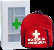 botiquin yelementos para emergencias
